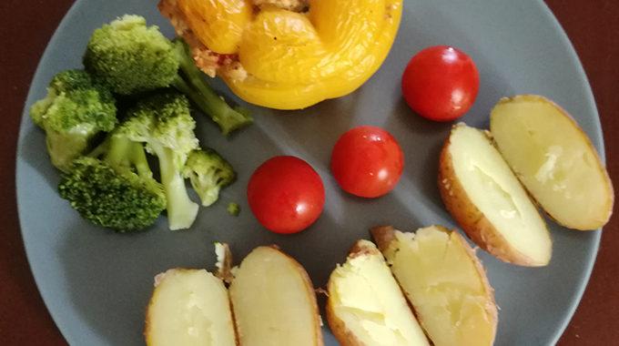 Töltött kaliforniai paprika recept vegánblog