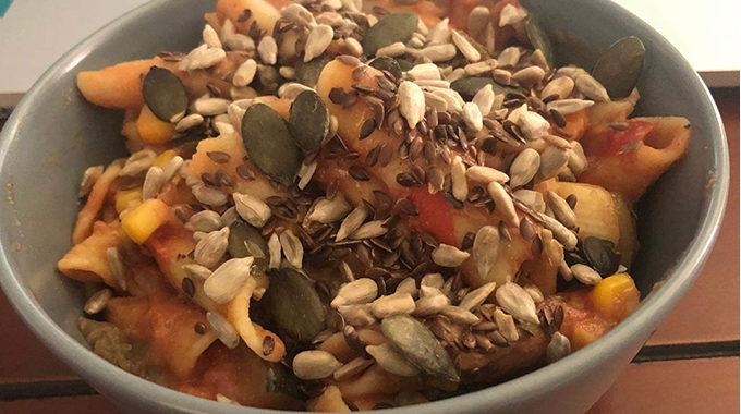 gyors zöldséges tészta recept vegánblog