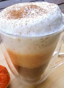 sütőtökös latte recept vegánblog