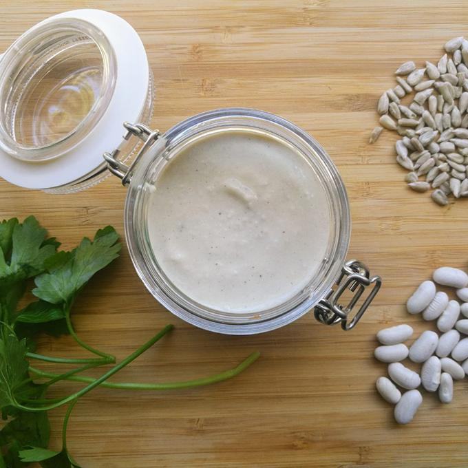 vegán majonéz babból recept vegánblog