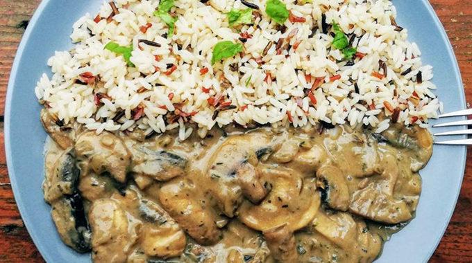 vegán stroganoff recept vegánblog