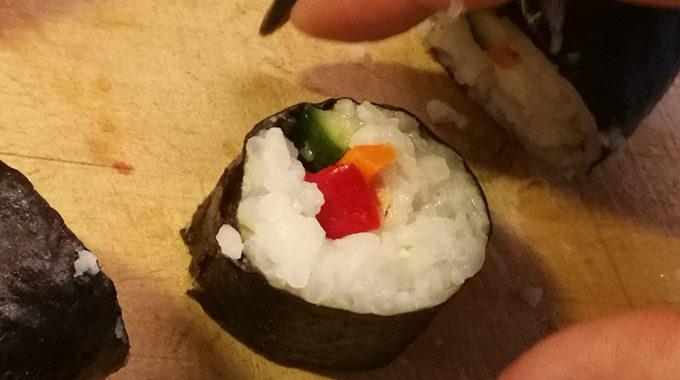 vegán sushi recept vegánblog