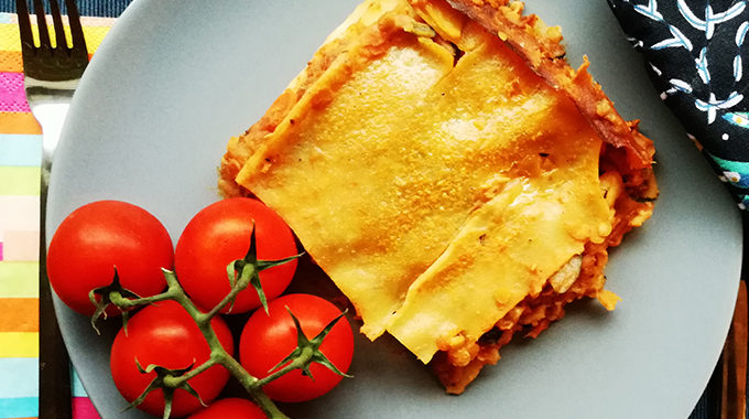 vegan lasagne besamell recept veganblog