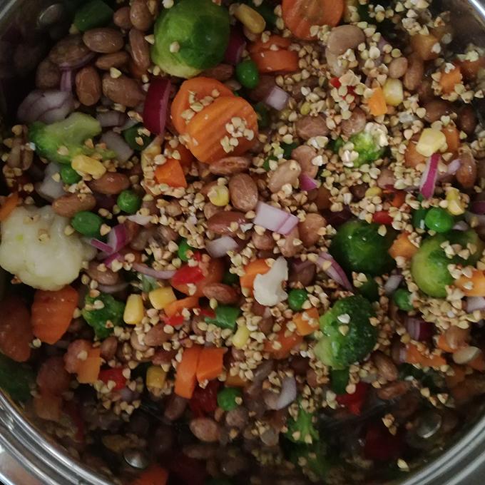 zöldséges hajdina vegán recept vegánblog