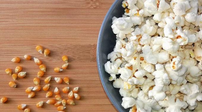 olajmentes popcorn recept
