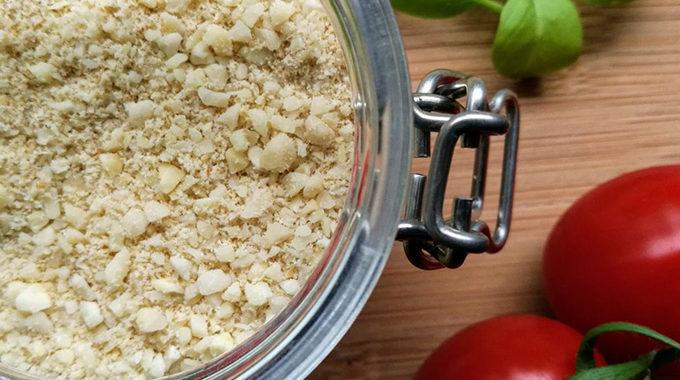 vegán parmezán sajt recept vegánblog
