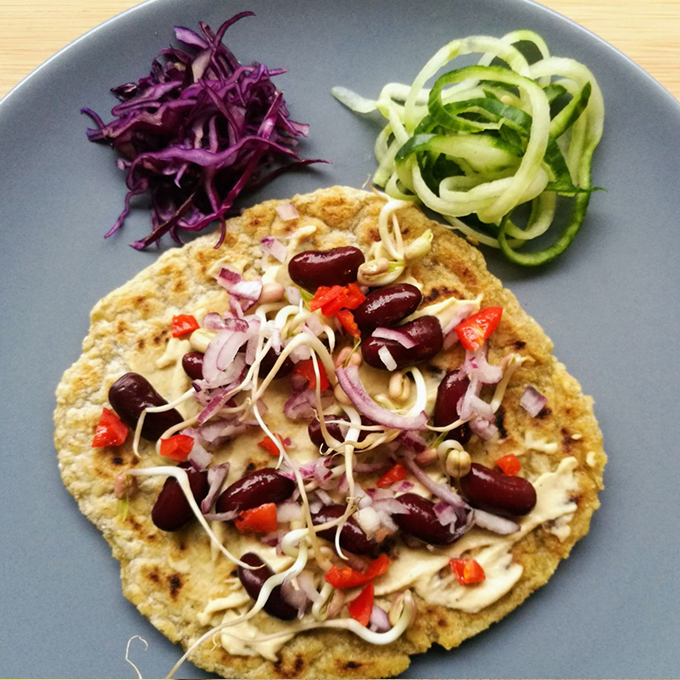 naan indiai gluténmentes laposkenyér recept vegánblog