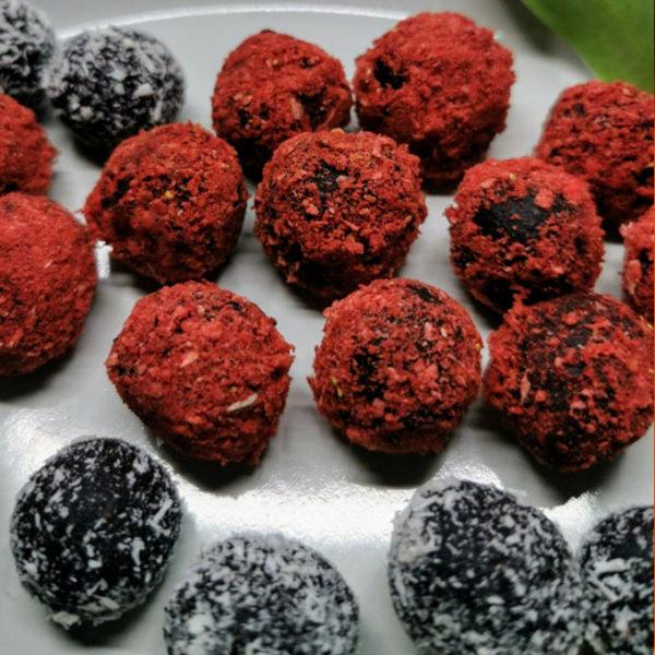 vegán egészséges desszert mini golyók vegánblog