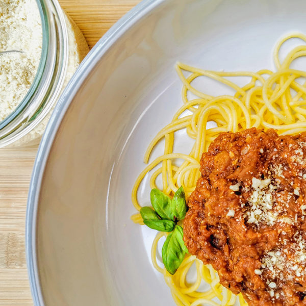 vegán bolognai spagetti recept vegánblog.