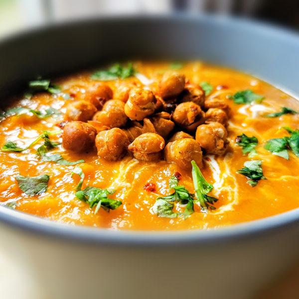 vegán currys édesburgonya krémleves recept vegánblog