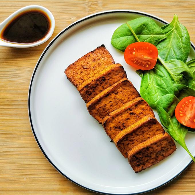 marinált pácolt tofu recept vegánblog