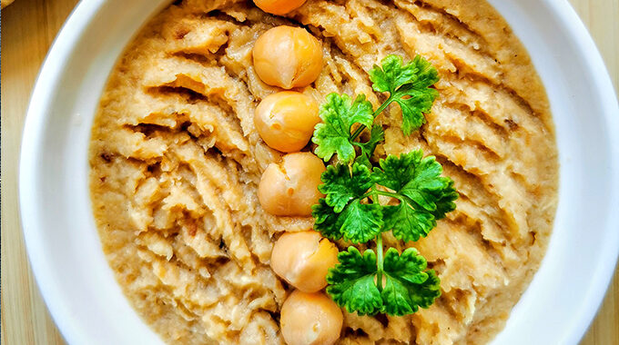 vegán fehérrépa humusz recept vegánblog