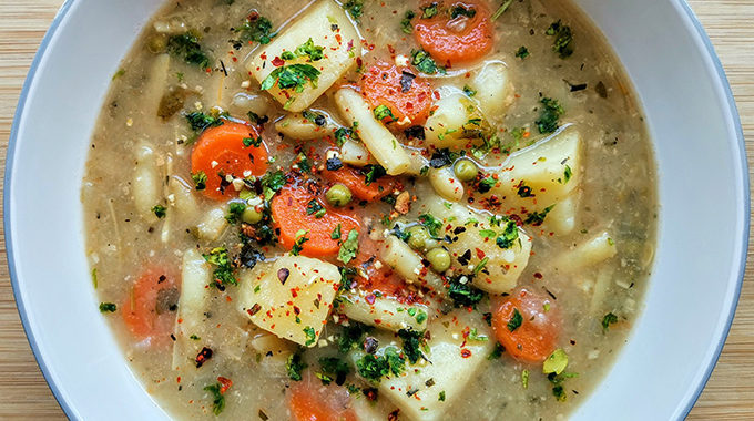 vegán palócleves recept vegánblog