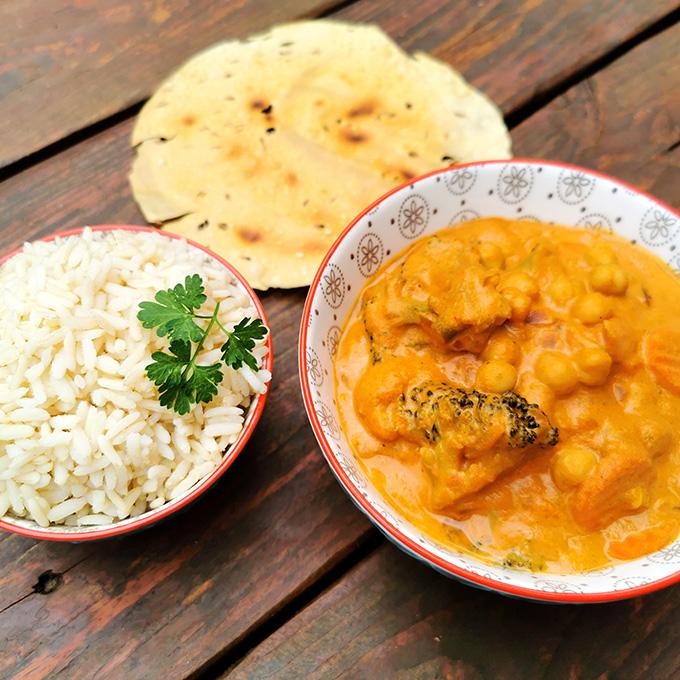 indiai vegán recept korma vegánblog