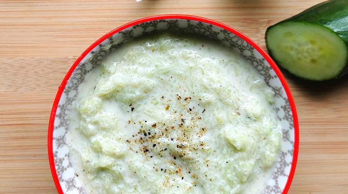 vegan tzatziki recept vegánblog