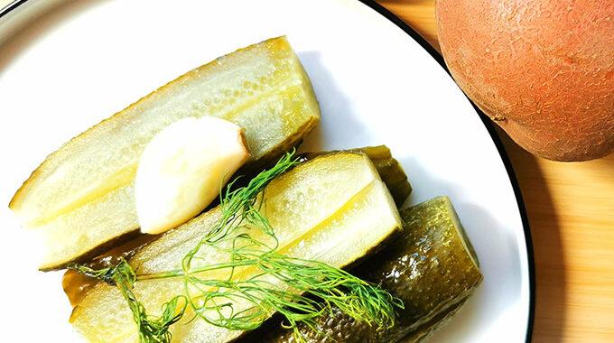 kovászos uborka recept vegánblog