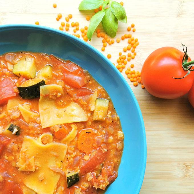 vegán lasagne leves recept vegánblog