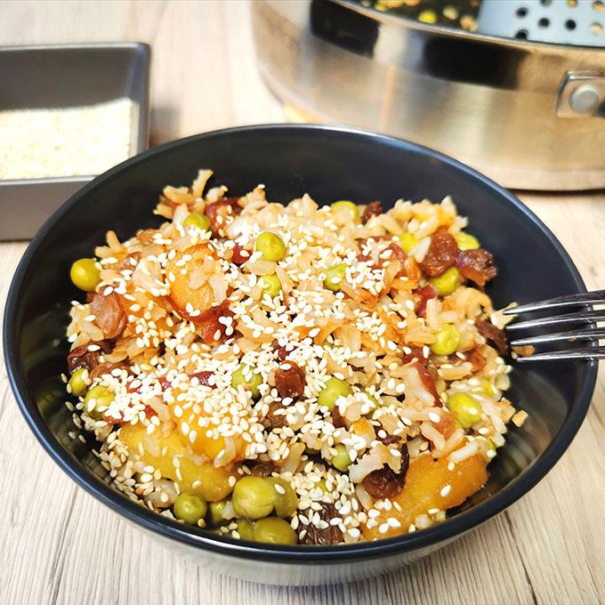 anánászos thai sült rizs recept vegánblog