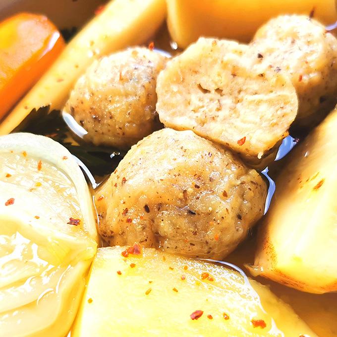 macesz gombóc recept vegánblog