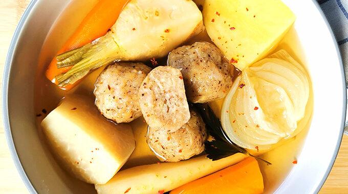 vegán húsleves macesz gombóccal vegánblog
