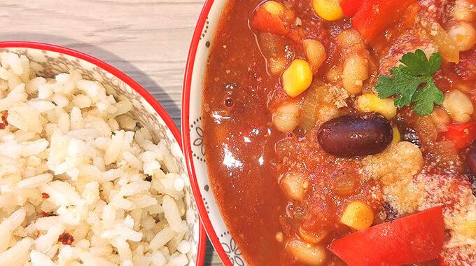 vegán chilis bab recept vegánblog