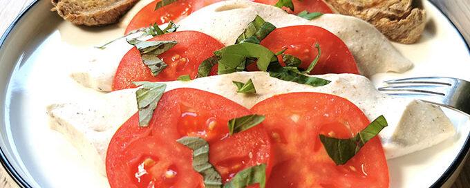 vegán lágy mozzarella recept vegánblog
