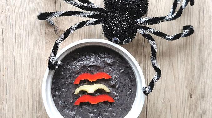fekete bab hummusz recept vegánblog