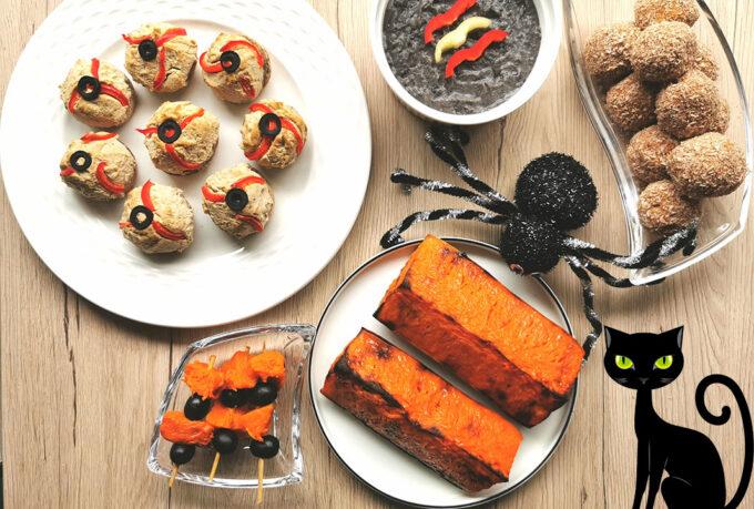 vegán halloween receptek vegánblog