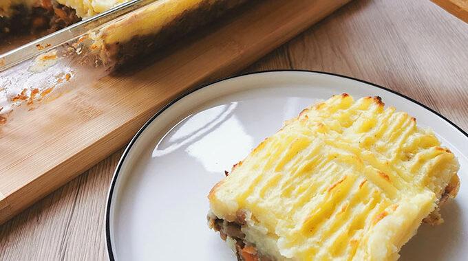vegán pásztor pite recept vegánblog