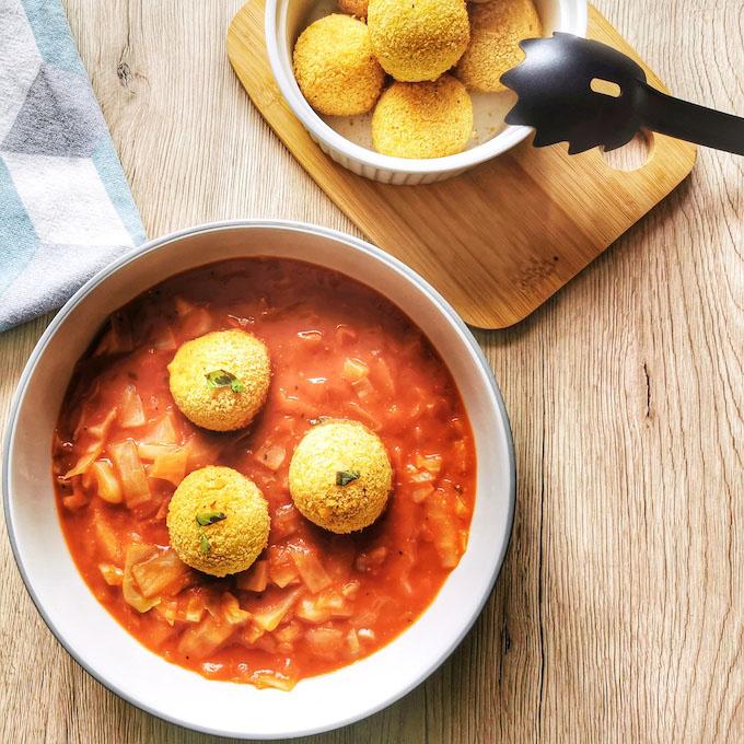 vegán paradicsomos káposzta recept vegánblog