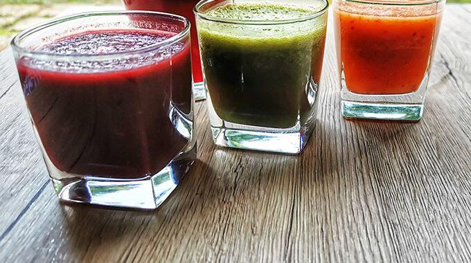 immunerősítő bordó smoothie vegánblog