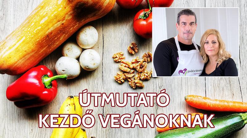útmutató kezdő vegánoknak
